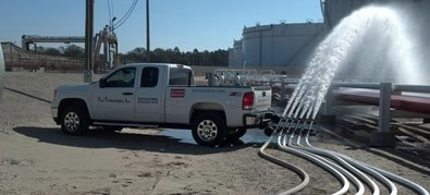 Fire Pump Test, Apex Oil