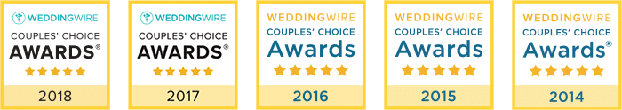 Port City Event Planners Wedding Wire Awards