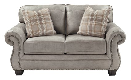 Olsberg Upholstered Loveseat Steel
