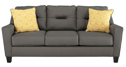 Nuvella Upholstered Queen Sofa Sleeper Gray