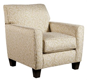 Nuvella Upholstered Accent Chair Sand