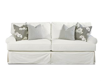 Lahoya Upholstered Slip Cover Loveseat