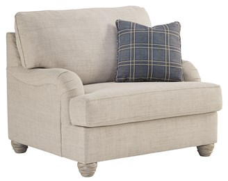 Traemore Upholstered Big Chair Linen