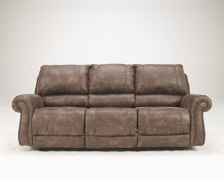 Oberson Upholstered Reclining Sofa Gunsmoke