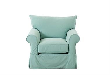Jenny Upholstered Slip Cover Chair