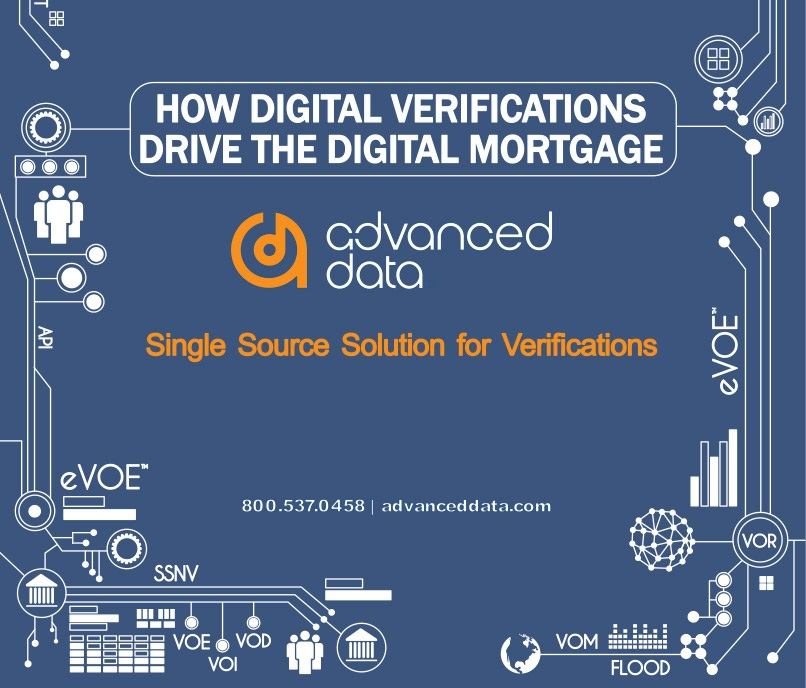 How Digital Verifications Drive the Digital Mortgage
