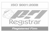 PRI Registered Firm ISO: 9001-2008