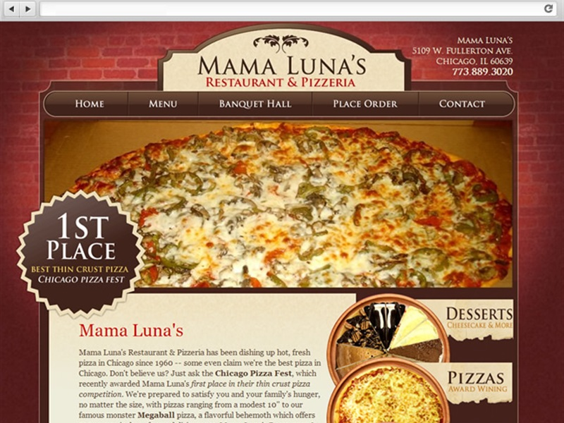 Mama Luna's Pizza