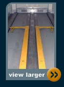 hydraroll trailer skate and flat floor trailer