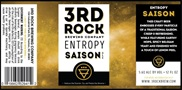 3rd Rock Entropy Saison 6 Pack
