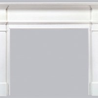 "Pearl ""Windsor"" mantel"