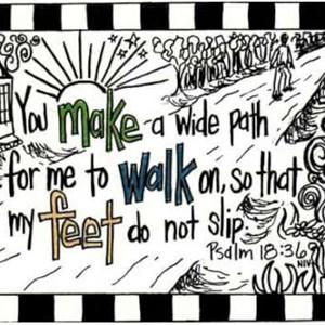 Psalm 18:36