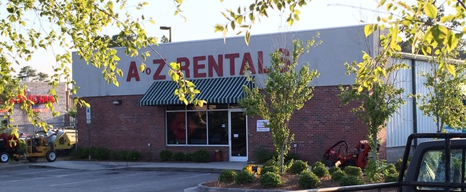 A-Z Equipment Rentals, Wilmington, NC