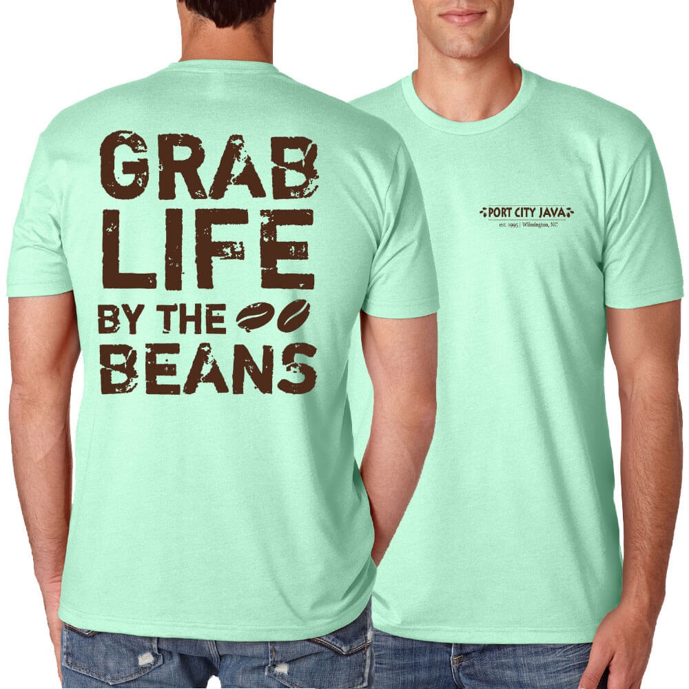 Grab Life by the Beans Shirt - Mint