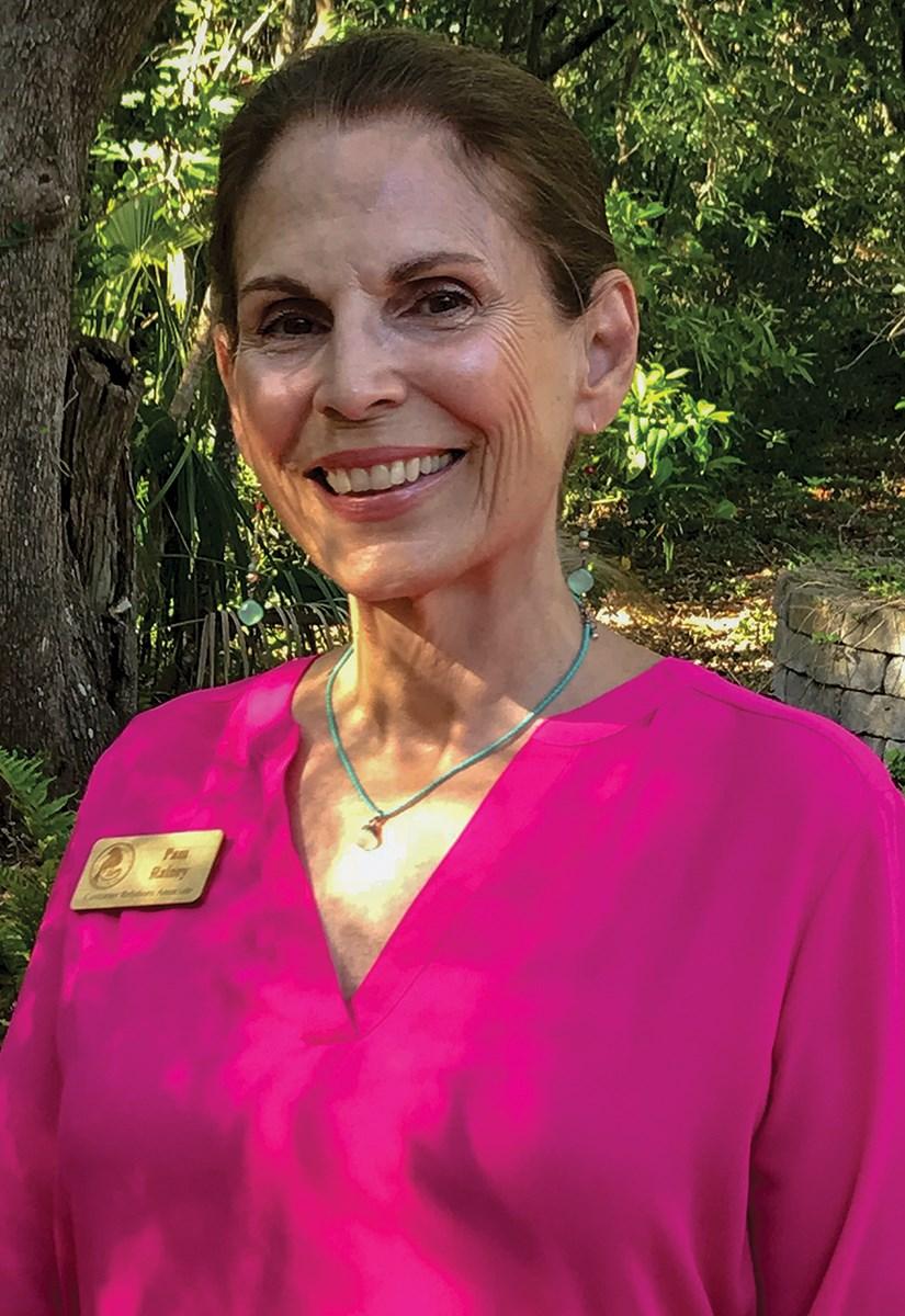 Pam Rainey, Customer Relations Associate