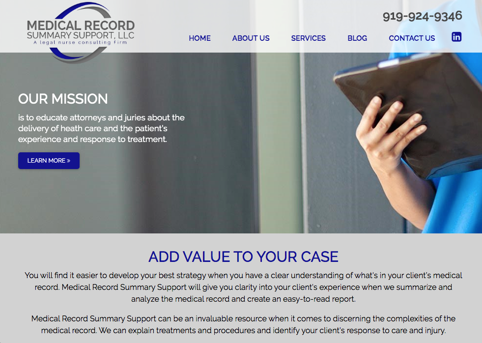 Medical Record Summary Support