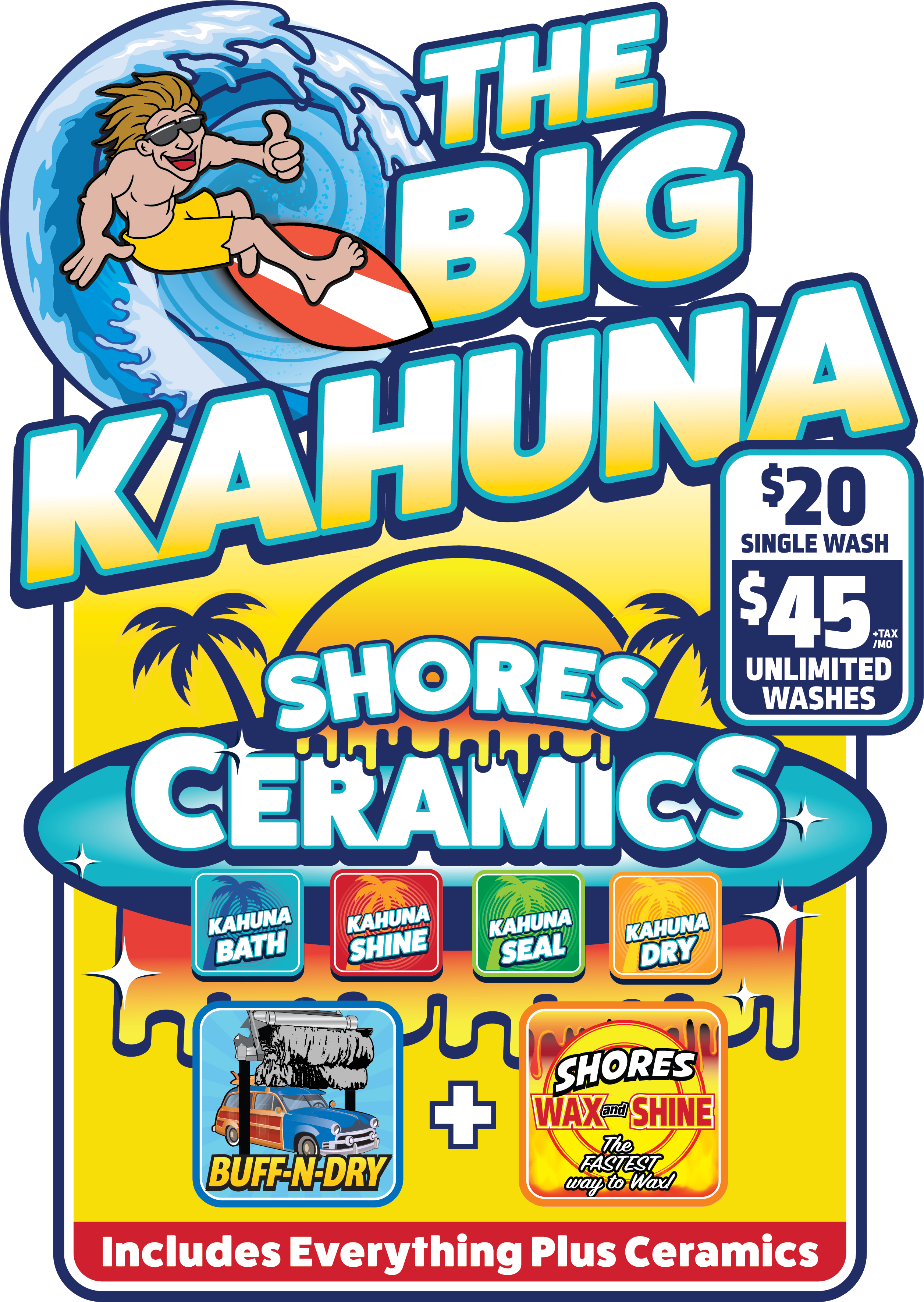 The Big Kahuna Package