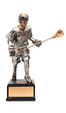 Lacrosse Resin Trophies