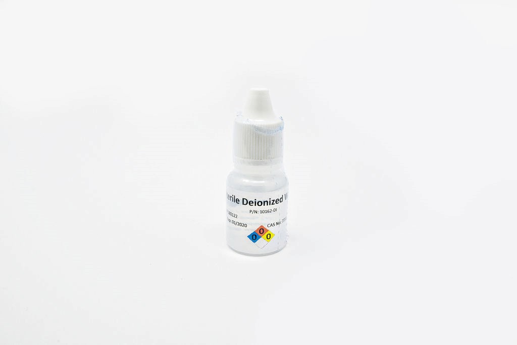 8mL Dropper Bottle, Sterile DI Water