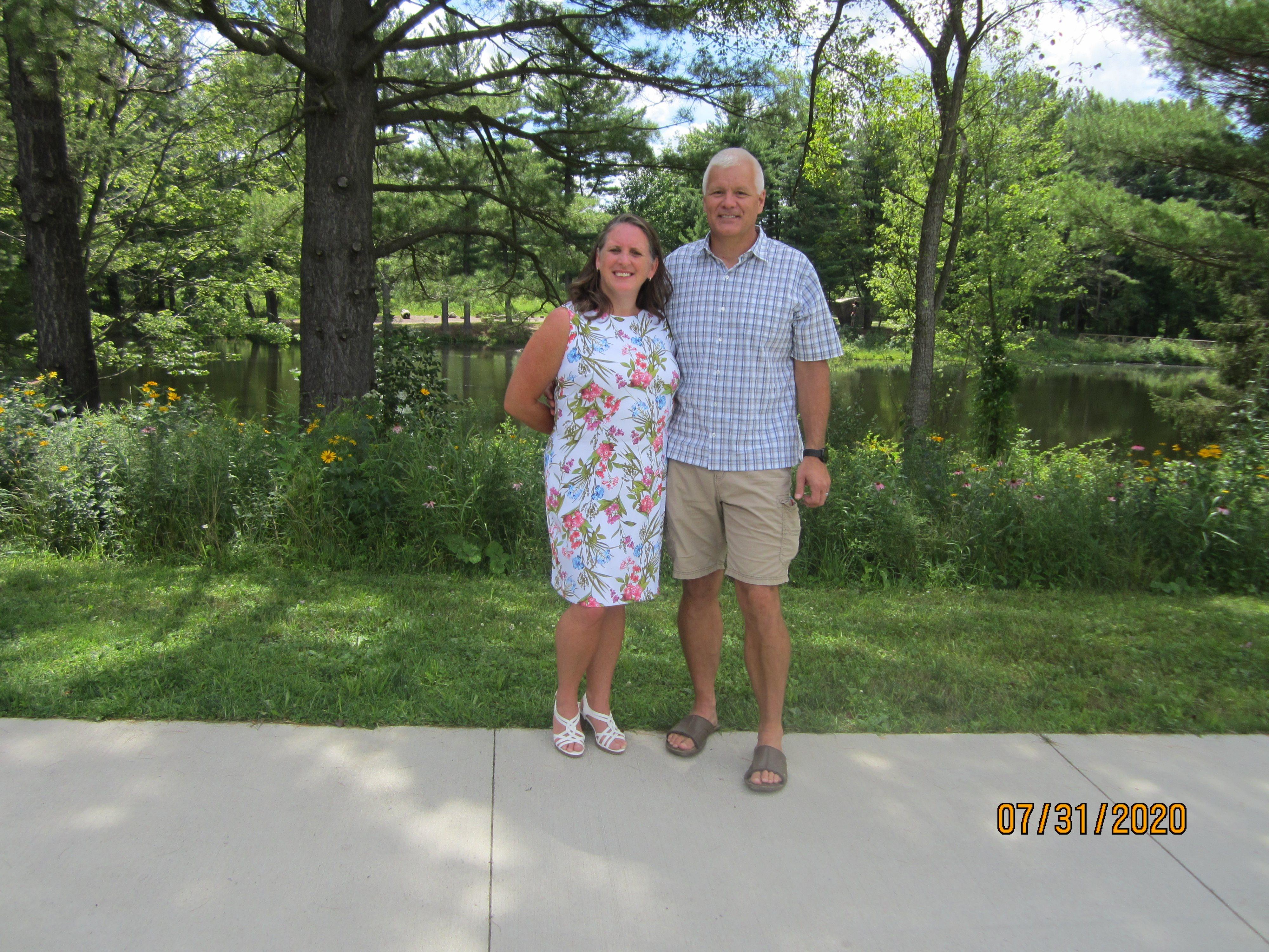 Dan Peter and Barb Grant