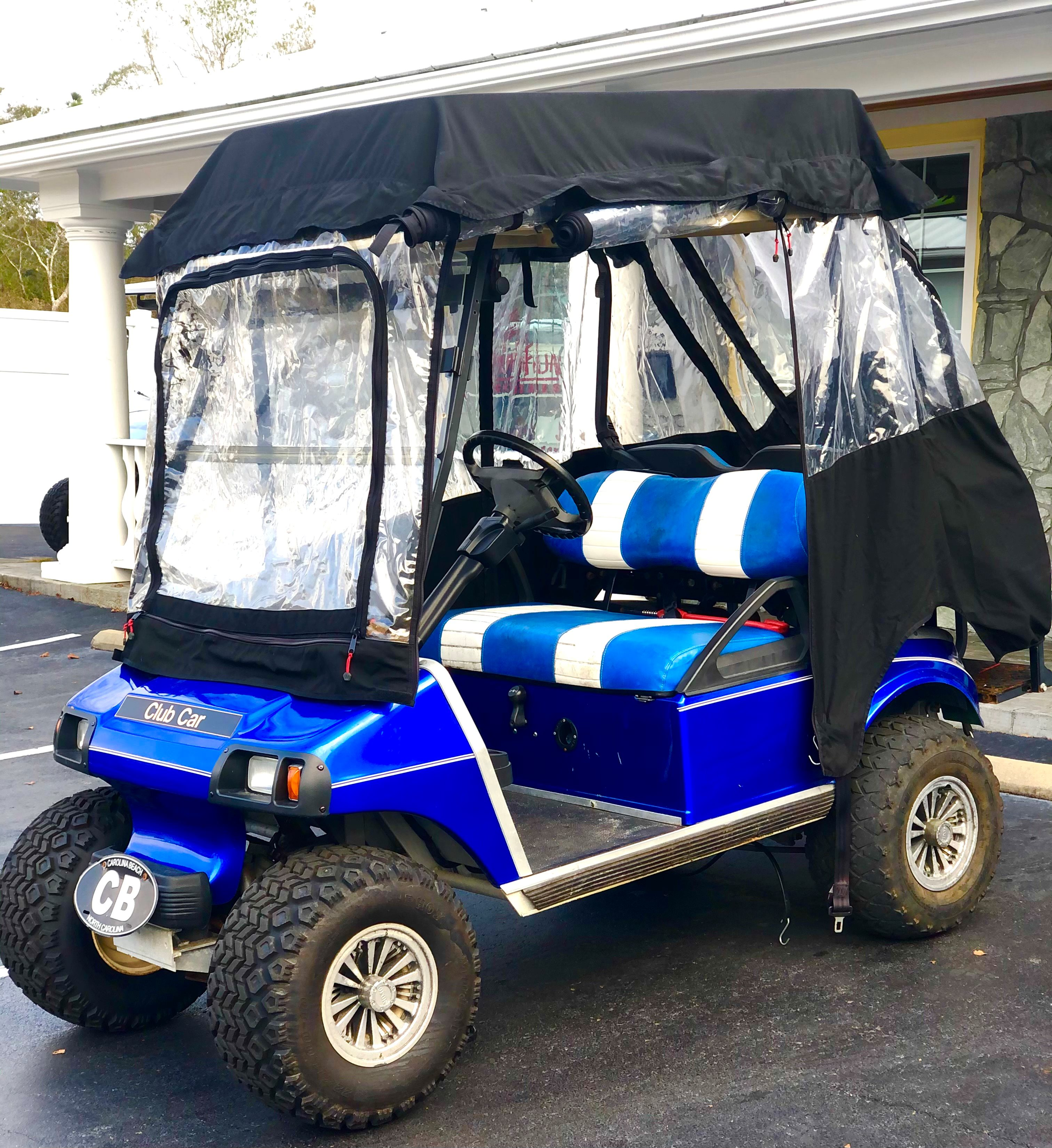 2003 USED CLUB CAR DS 4PR NON-LIFTED WITH ENCLOSURE ***CONSIGNMENT***