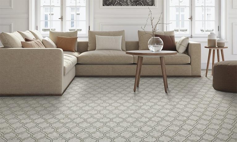 Karastan Carpet Boasts Smart Style & Durability