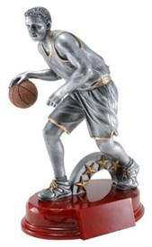 CAT-7 - Male Basketball Resin Figure