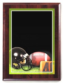 PBM 7 x 9 Football Plaque