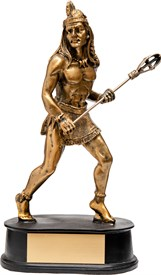 LSPR-8NA Native American Lacrosse Resin Figure