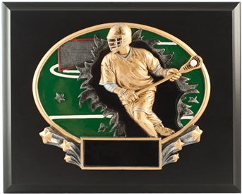 MXP 8 X 10 Lacrosse Plaque