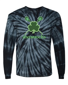 Tie Dye Black Long Sleeved T  - Orders due by Monday, September 23, 2019
