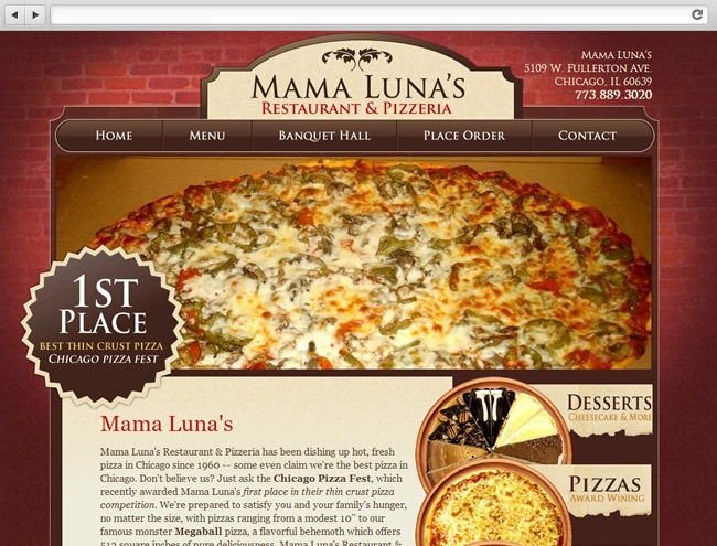 Mama Luna's Pizza