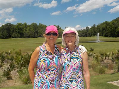Match Play Flight 7 Winners - Patty Betz and Susan Hammond