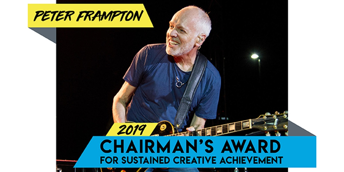 Peter Frampton To Win Award and Release Final Album At Music Biz 2019