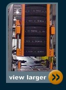 automatic tire stacker and conveyor