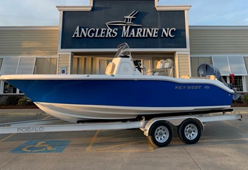 2020 Key West 219 FS Ocean Blue #NF265 liquid-unknown-field [type] Boat