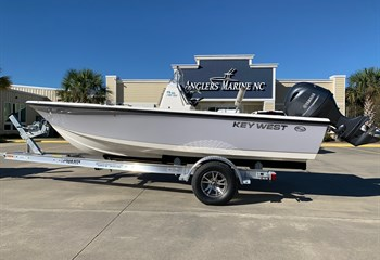 2021 Key West 188 Bay Reef Manta Gray/White (CLAYTON) Boat