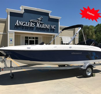 2019 Bayliner Element E18 Navy New Boat