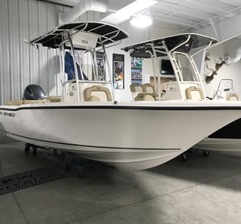 2019 Key West 203 FS White New Boat