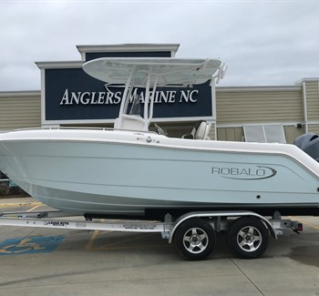 2019 Robalo R222 Explorer Ice Blue New Boat