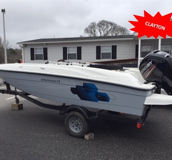2019 Bayliner Element E18 Grey liquid-unknown-field [type] Boat